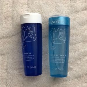 Lancôme tonique & eye makeup remover travel size